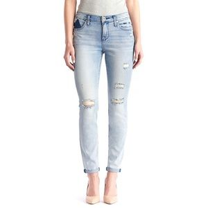 Rock & Republic Distressed Berlin Ankle Jeans